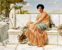John William Godward: Reverie