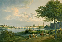 Кристиан Готтлоб Хаммер: View of Dresden