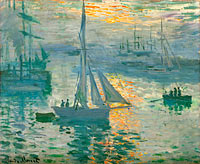 Claude Monet: Sunrise (Marine)