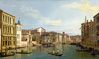 Каналетто: The Grand Canal in Venice from Palazzo Flangini to Campo San Marcuola
