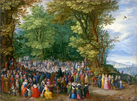 Jan Brueghel the Elder: The Sermon on the Mount
