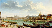 Жан-Батист Рагене: A View of Paris with the Ile de la Cité