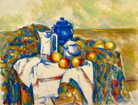 Still Life with Blue Pot