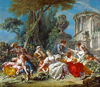 François Boucher: The Bird Catchers