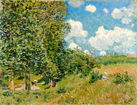 Alfred Sisley: The Road from Versailles to Saint-Germain
