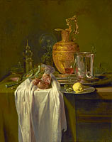 Виллем Кальф: Still Life with Ewer, Vessels and Pomegranate