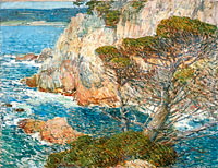 Frederick Childe Hassam: Point Lobos, Carmel