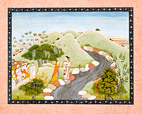 The Emergence of Kaushiki, Folio from a Devimahatmya (Glory of the Goddess)