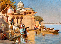 Эдвин лорд Викс: Along the Ghats, Mathura