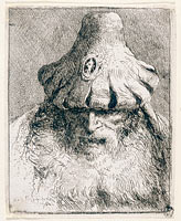 Old Man with Conical Hat
