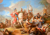 Шарль-Андре ван Лоо: The Victory of Alexander over Porus