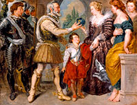 Henri IV Conferring the Regency upon Marie de' Medici (after Rubens)
