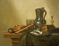 Вилем Клас Хеда: Tobacco Still Life