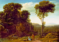Pastoral Landscape with a Mill