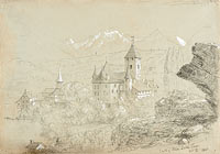 Castle of Spiez, Lake Thun