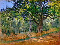 Claude Monet: The Bodmer Oak, Fontainebleau Forest