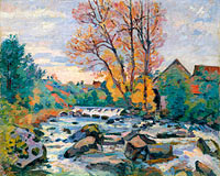 Jean-Baptiste-Armand Guillaumin: The Bouchardon Mill, Crozant