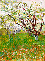 Винсент Ван Гог: The Flowering Orchard