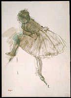 Study of a Ballet Dancer (recto)