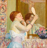 Woman with a Mirror (Femme qui se mire)