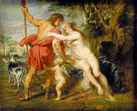 Peter Paul Rubens: Venus and Adonis (2)