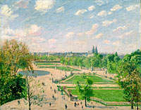 The Garden of the Tuileries on a Spring Morning