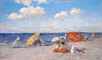 William Merritt Chase: At the Seaside