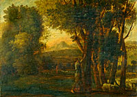 Landscape with Erminia