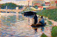 Georges Seurat: View of the Seine