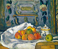 Paul Cézanne: Dish of Apples