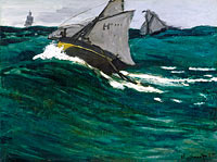 Claude Monet: The Green Wave (2)