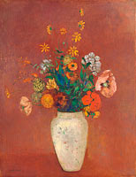 Odilon Redon: Bouquet in a Chinese Vase