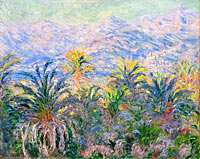 Claude Monet: Palm Trees at Bordighera