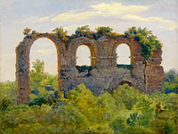 André Giroux: A Section of the Claudian Aqueduct, Rome