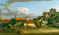 Бернардо Беллотто: Pirna: The Obertor from the South