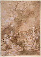 Juno Appearing to Sea Gods