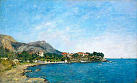 Eugène Louis Boudin: Beaulieu: The Bay of Fourmis