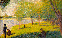 Study for A Sunday on La Grande Jatte (2)