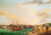 Henri Joseph van Blarenberghe: The Outer Harbor of Brest