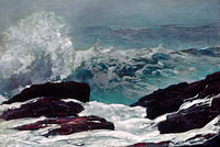Winslow Homer: Maine Coast