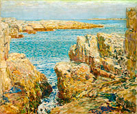Frederick Childe Hassam: Coast Scene, Isles of Shoals