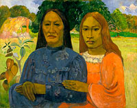Paul Gauguin: Two Women