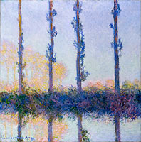 Claude Monet: The Four Trees