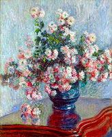 Claude Monet: Chrysanthemums