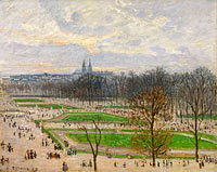 The Garden of the Tuileries on a Winter Afternoon (1)