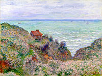 Claude Monet: Cabin of the Customs Watch