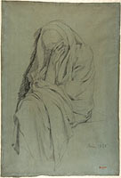 Study for Vieille Italienne(recto); Drapery Study (verso)