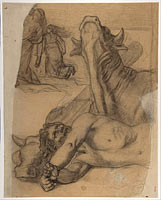 Sketch for War, painting in the Museum of Picardy at Amiens