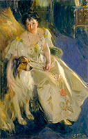 Anders Leonard Zorn: Mrs. Walter Rathbone Bacon (Virginia Purdy Barker, 1862–1919)