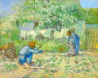 Vincent van Gogh: First Steps, after Millet (2)